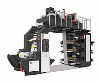 Six-color overlapping type synchronous belt high speed printing machine