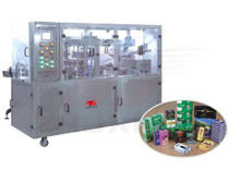 Pneumatic Transparent Film 3D Overwrapping machine (Bringing Antiforging Pull Line)